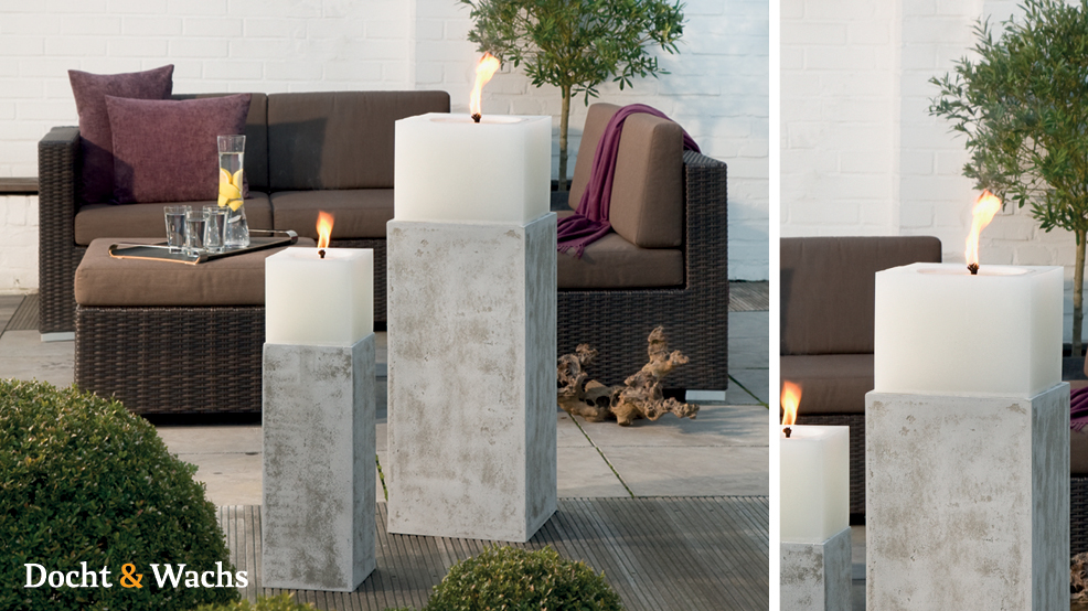 docht wachs inspiration. Black Bedroom Furniture Sets. Home Design Ideas